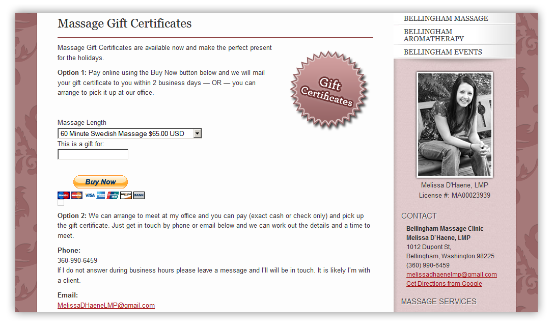 PayPal Integration for Gift Certificate Payments