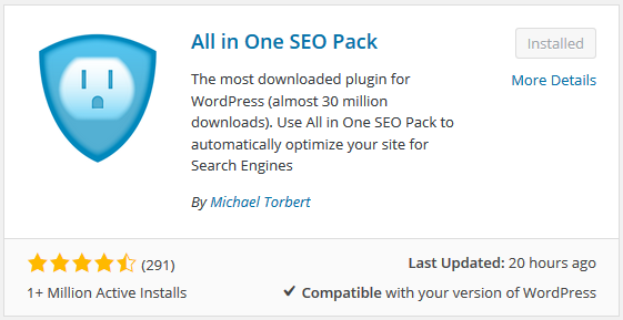 All In One SEO WordPress Vulnerability